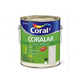ACRILICO CORALAR BRANCO 3,6L CORAL